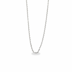 16 Inch Sterling Silver Cable Necklace Chain