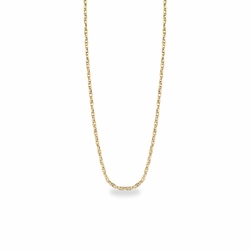 18 Inch 14K Gold Rope Necklace Chain