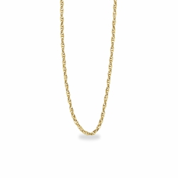18 Inch Gold Filled Rope Necklace Chain