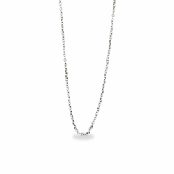 20 Inch Sterling Silver Cable Necklace Chain