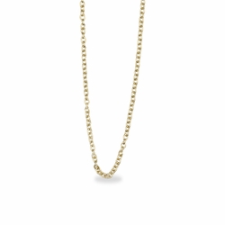 22 Inch Gold Plated Rope Necklace Chain