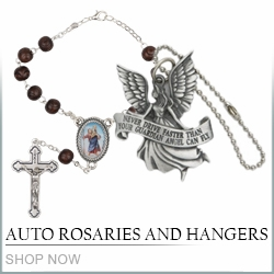 Auto Rosaries and Hangers