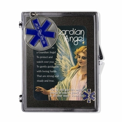 """Paramedic """"Guardian Angel"""" Appreciation Boxed Gift Set-Includes Verse Card, Keychain, and Lapel Pin"""