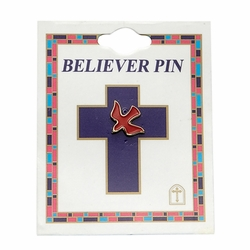 Red Dove Pin