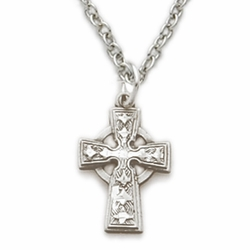 Sterling Silver Baby Celtic Cross
