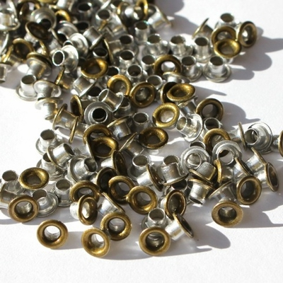 1/8 Eyelets - Brushed Gold