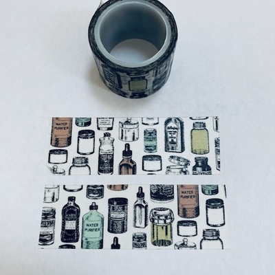 Apothecary Bottle Washi Tape