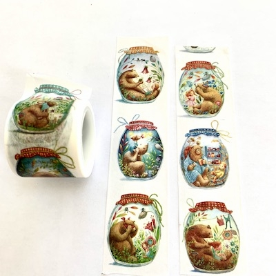 Bear Pot Washi Tape
