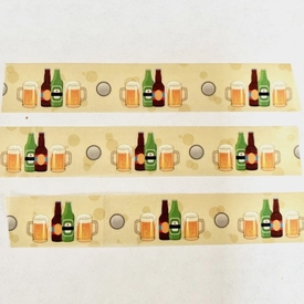 * Beer Washi Tape