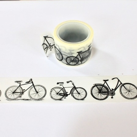 Bicycle Washi Tape - Wide - out of stock
