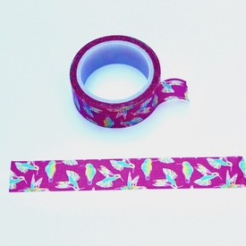 Bird Washi Tape - Pink