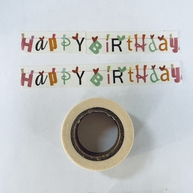 Birthday Washi. Tape