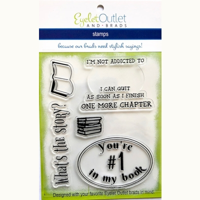Book Stamp Set