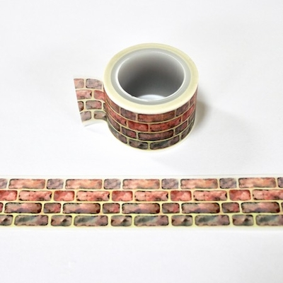 Brick Washi Tape