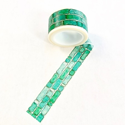 * Brick Washi Tape - Blue