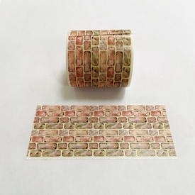 Brick Washi Tape - Wide