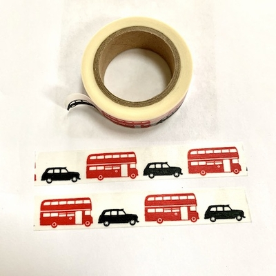 * Bus & Car Washi Tape