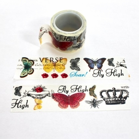 Butterfly Washi Tape - Wide- Out Of Stock
