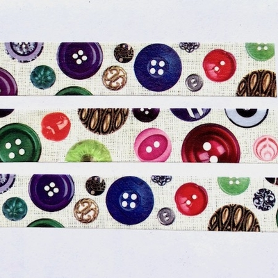 Button Washi Tape
