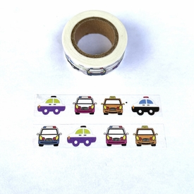 Car Washi Tape