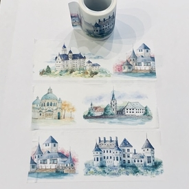 Castle Washi Tape - Wide