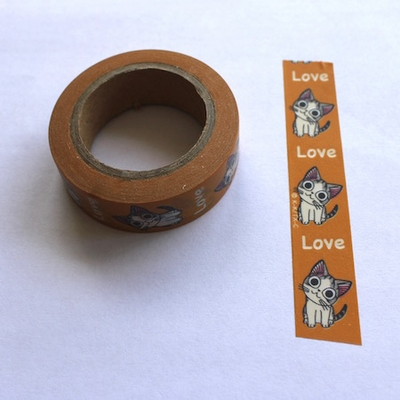 Cat Love Washi Tape