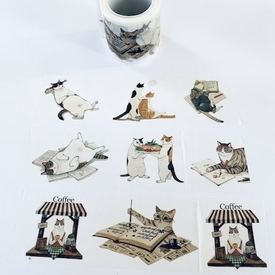 Cat Life Washi Tape