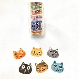 Cat Washi Tape Sticker Roll
