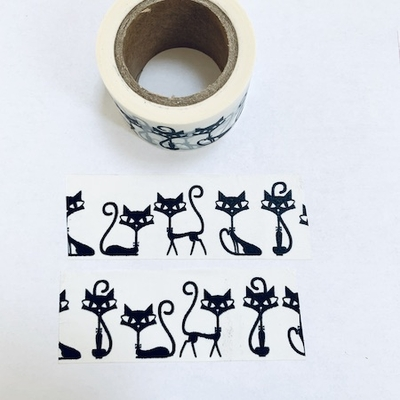 Cat Washi Tape - Wide