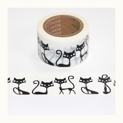 Cat Washi Tape - Wide - Out Of Stock
