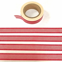 * Checked Washi Tape - Red