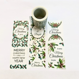 Christmas Holly Washi Tape