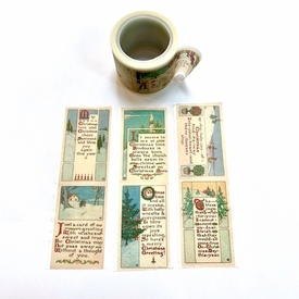 * Christmas Sayings Washi Tape