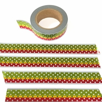 * Christmas Stripe Washi Tape