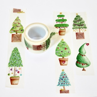 Christmas Tree Washi Tape - out of stock