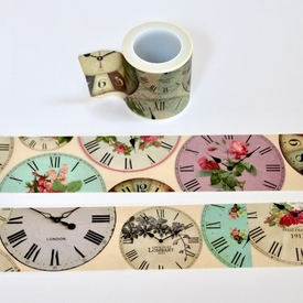 Clock Face Washi Tape