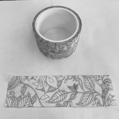 Coloring Book Washi Tape