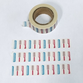 Comb & Brush Washi Tape