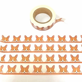 Corgi Dog Washi Tape