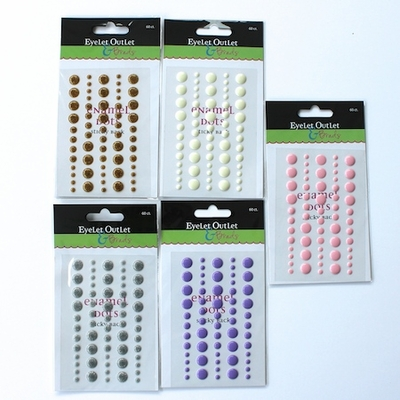 Enamel Dots - Single Colors