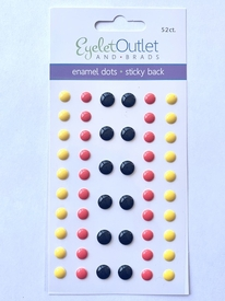 Enamel Dots- Vacation Colors