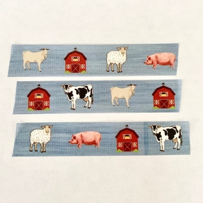 Farm Animal Washi Tape