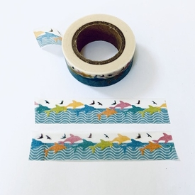 Fish Jumping Washi Tape