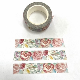 *Flower Collage Washi Tape