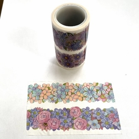 Flower Double Duo Washi Tape
