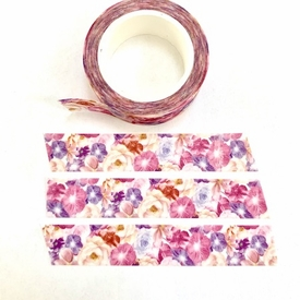 Flower Shimmer Washi Tape