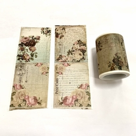 Flower Postcard Washi Tape