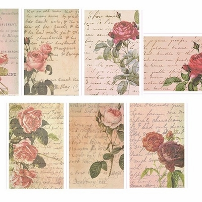 Flower Washi Tape - Roses - out of stock