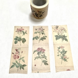 Flower Washi Tape - Vertical