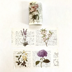 Flower Washi Tape - Wide